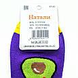 Носки женские короткие демисезонные с принтом авокадо фиолетовые Натали размер 37-41, фото 4