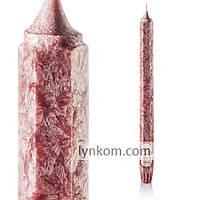 Кофе свеча шестигранная столовая ароматическая декоративная 1 шт