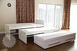 """Ліжко трансформер трьохярусне """"Ніколь"""", фото 6"""