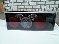 Диодные задние фонари на ВАЗ 2108/09 Олимпиада №3 (черные)