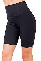 Женские спортивные треки с высокой талией (42,44,46,48,50,52) велотреки женские для спорта с завышенной талией