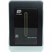Активный USB-хаб PowerPlant USB 2.0 7 портов