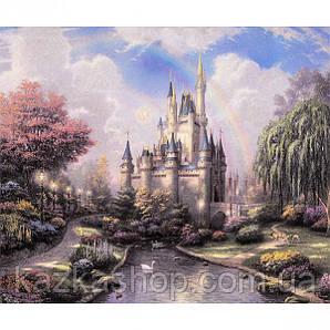 """Алмазная живопись """"Сказочный город"""", мозаика по номерам размер 30*40см Китай"""