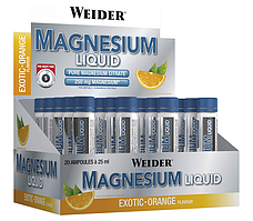 Weider Magnesium Liquid 20х25ml