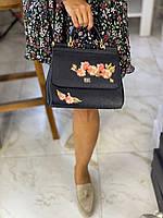 Женская сумочка DOLCE&GABBANA 'Sicily' натуральная кожа (реплика)