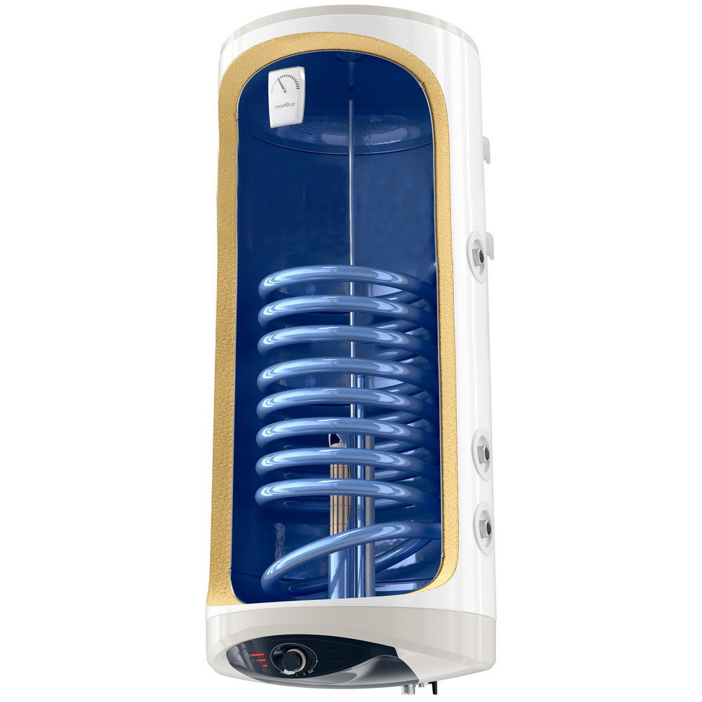 Комбінований водонагрівач Tesy Modeco Ceramic 120 л, сухий ТЕН 2х1,2 кВт (GCV9SL1204724DC21TS2RCP)