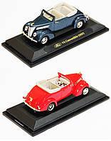 """Машина метал. """"Kinsmart"""" Модель легковая 4"""" 94230 метал. 1:43 FORD V8 CONVERTIBLE 1937 /48/"""
