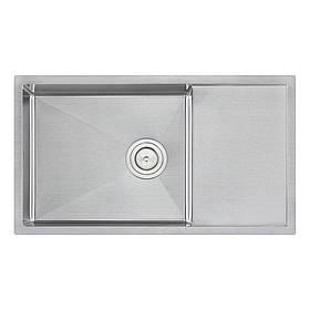 Кухонна мийка Qtap D7844 Satin 3.0/1.2 мм (QTD784412)