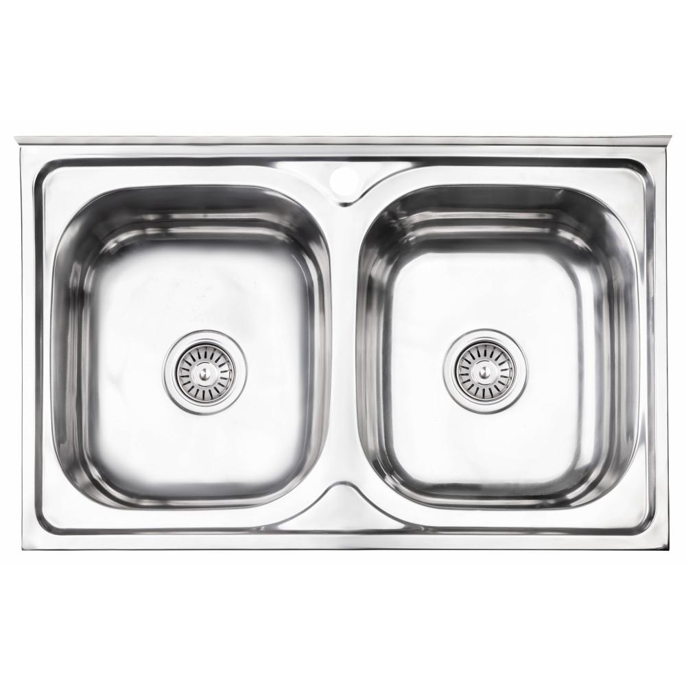 Кухонная мойка Lidz 5080 Polish 0,8 мм (LIDZ5080LPOL06)
