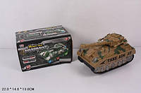 Военная техника батар 1811 (60шт/2) танк, свет.,в кор. 22*14*13см