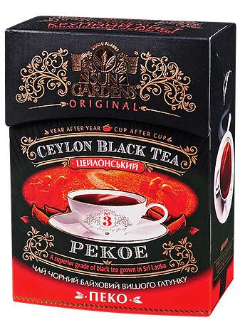 Чай чёрный Sun Gardens Pekoe 100 г.