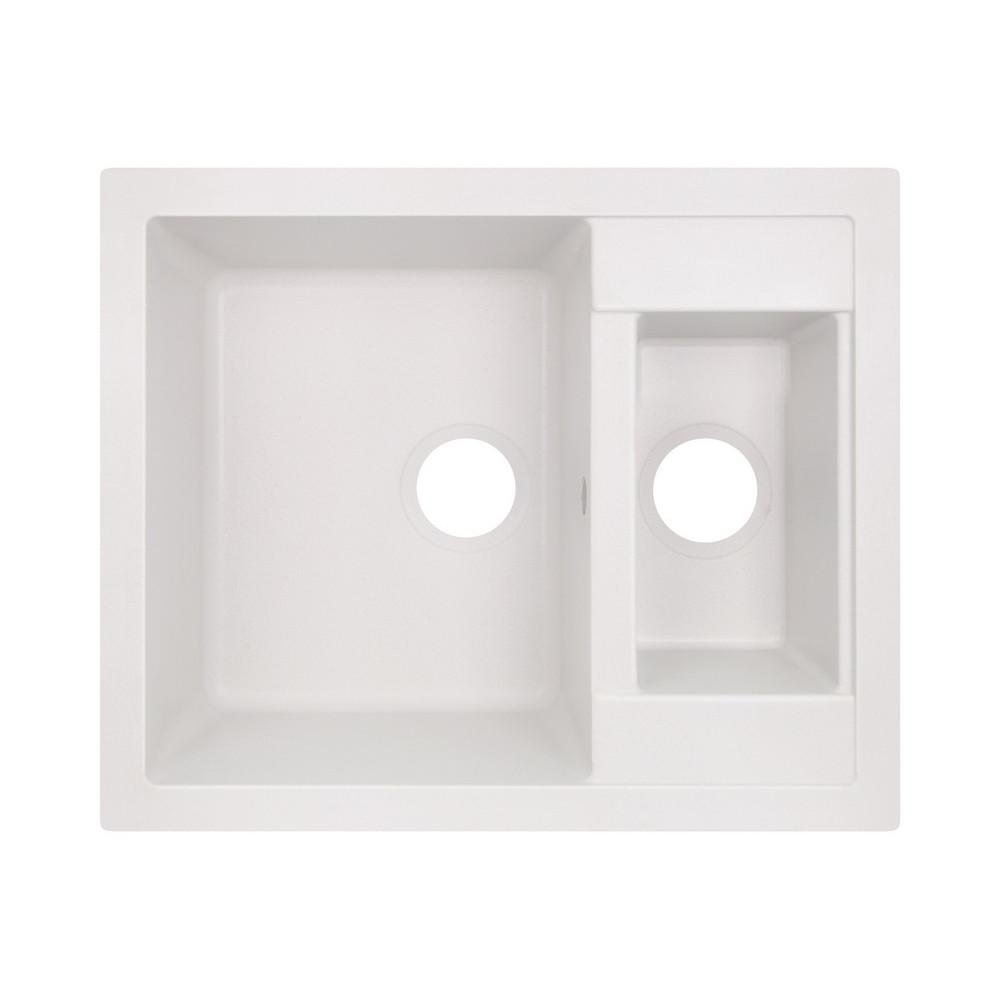 Кухонная мойка Lidz 615x500/200 WHI-01 (LIDZWHI01615500200)