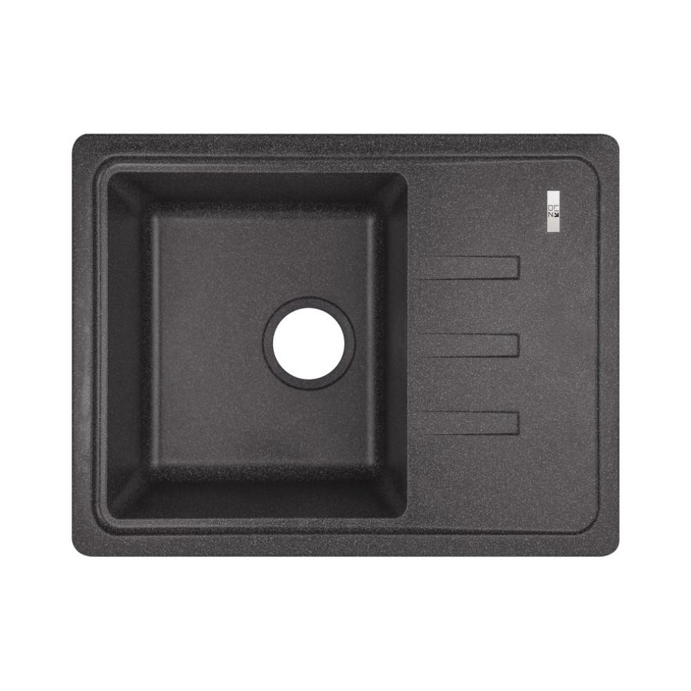 Кухонная мойка Lidz 620x435/200 BLA-03 (LIDZBLA03620435200)