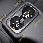 Антиковзаючий килимок в підстаканики Hyundai (Хюндай), фото 2