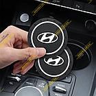 Антиковзаючий килимок в підстаканики Hyundai (Хюндай), фото 3