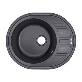 Кухонна мийка Lidz 620x500/200 BLA-03 (LIDZBLA03620500200)