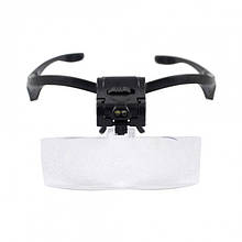 Бинокуляр очки бинокулярные со светодиодной подсветкой 9892B