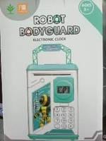 Копилка Robot bodyguard