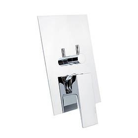 Змішувач прихованого монтажу для ванни Bianchi Jump INDJUM2304065CRM для трьох споживачів