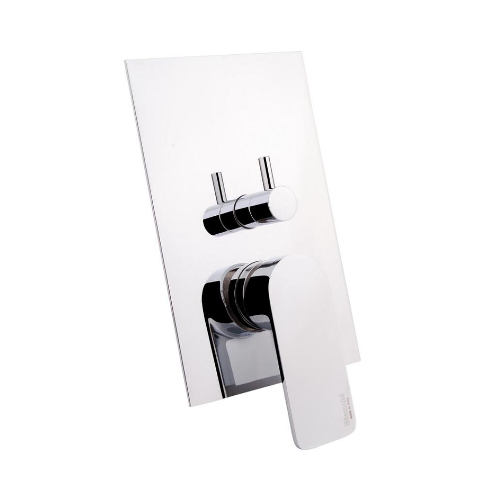 Смеситель скрытого монтажа для ванны Bianchi City INDCTY2304CRM на три потребителя