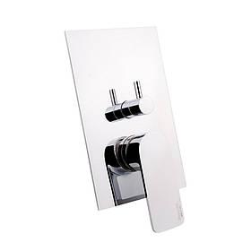 Змішувач прихованого монтажу для ванни Bianchi City INDCTY2304CRM для трьох споживачів