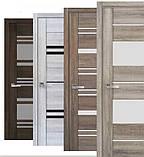 Межкомнатные двери Новый Стиль Аскона ПВХ Viva с матовым стеклом, цвет бук бук баварский, фото 3