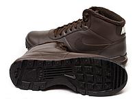 Ботинки мужские Nike Hoodland Suede Walking коричневые, фото 1