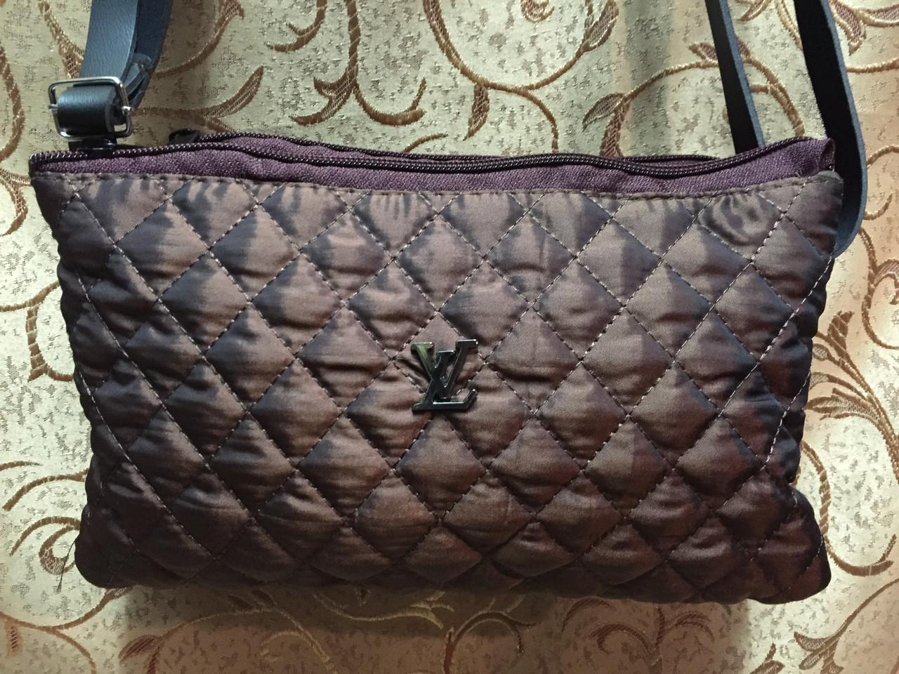 Клатч женский Сумка стеганная LV(стеганая сумка)только ОПТ/женский барсетки/Сумка для через плечо