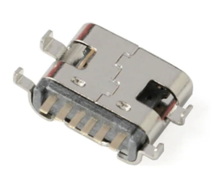 Роз'єм Type-C 6 pin 0.8 мм