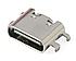 Роз'єм Type-C 6 pin 0.8 мм, фото 2