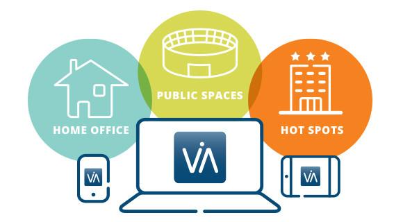 Клиент виртуального доступа к интрасети Aruba обеспечивает безопасное удаленное сетевое подключение