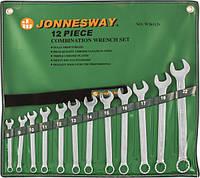 Набор ключей комбинированных 8-22 мм, 12 предметов W26112S Jonnesway