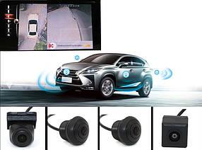 Автомобильная система кругового обзора 360 3d система кругового обзора парктроник