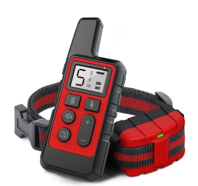 Ошейник электронный для дрессировки собак с пультом ДУ 500 метров