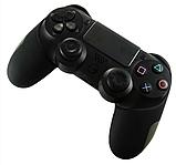 Плотный чехол Bevigac для геймпада DualShock 4 PS4 + накладки /, фото 2