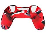 Плотный чехол Bevigac для геймпада DualShock 4 PS4 + накладки /, фото 5