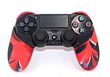 Плотный чехол Bevigac для геймпада DualShock 4 PS4 + накладки /, фото 9