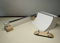 Fingerboard Set Handicraft FB + фингерборд Wood and Wheels, фигуры для фингерборда, фингерборд парк