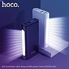 УМБ портативний зарядний Power Bank HOCO J60 30000 mAh, чорне, фото 5