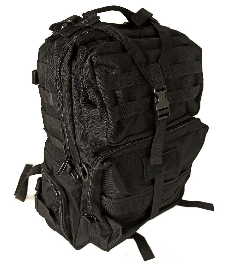Рюкзак тактичний D36 40 л, чорний