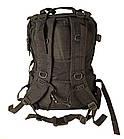 Рюкзак тактичний D36 40 л, чорний, фото 3