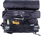 Палатка трехместная KingCamp Family 3 KT3073, синяя, фото 3