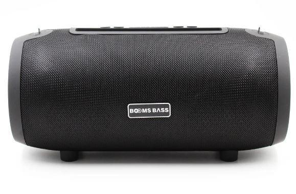 Портативна Bluetooth колонка BOOMS BASS L9, чорна
