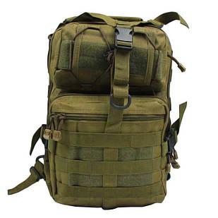 Сумка-рюкзак тактична військова A92 800D, койот Без бренду