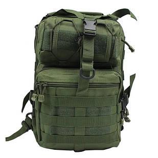Сумка-рюкзак тактична військова A92 800D, олива