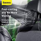 Вентилятор автомобільний Baseus Natural Wind Magnetic Rear Seat Fan, чорний, фото 7