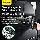 Вентилятор автомобільний Baseus Natural Wind Magnetic Rear Seat Fan, чорний, фото 8