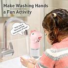 Дозатор піни сенсорний BASEUS Minidinos hand washing machine ACXSJ-D04, зелений, фото 4