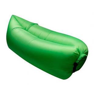Надувний шезлонг диван мішок Ламзак Lamzac AIR CUSHION Green