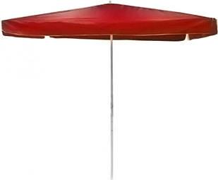 Зонт пляжний 2.5x2.5м Stenson MH-0045 червоний